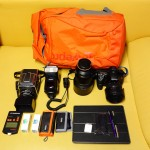 Sony Alpha Set um Lowepro Hatchback 22L